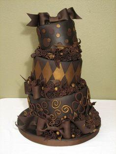 Nuevas Tendencias en Decoración de Tortas: Tortas de 15 Años de Chocolate