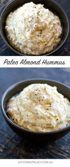 Paleo Almond Hummus Recipe