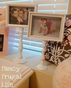 Candlesticks and picture frames!