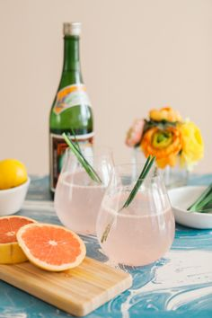 FRESH GRAPEFRUIT AND LEMONGRASS COCKTAIL RECIPE