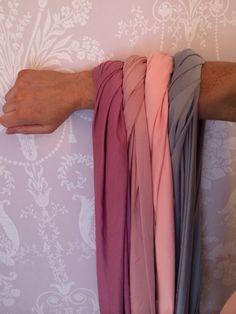 Mauve - dusky pink - blush pink - light grey Instagram VictoriaLouDresses Multiway dress Infinity dress Bridesmaid dress