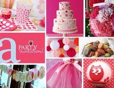 Mummy's Little Dreams: Polka Dot Theme Party