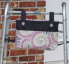 Going for a Stroll Hands-free Walker Tote Sewing Pattern