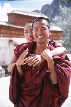 Tibetan monks.