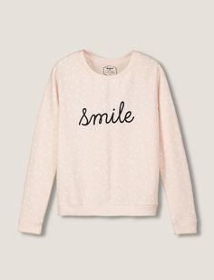 Sweat femme message smile le chien à taches -Pinterest: Hamza│₪  The Land of Joy