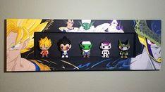 Acrylic Painting] Dragon Ball Z Shadow Box Canvas on Behance