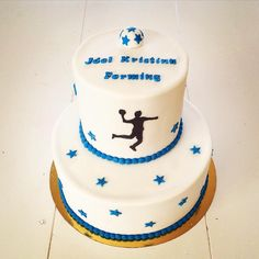 Confirmation Handball Cake