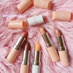 """ I love these lippies from Rimmel,the shades are pretty gorgeous """