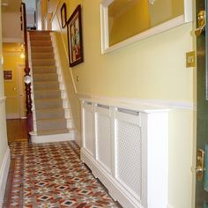 Chiltern Traditional Radiator Cabinets from Radiator Cabinets UK Traditional Radiators, Lacquer Paint, Edwardian House, Radiator Cover, Paint Finishes, Hardwood, Lounge, Colours, Living Room