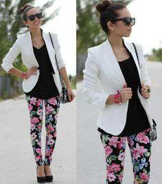 Los sacos siempre combinarán con cualquier outfit, además te verás muy elegante y a la moda.