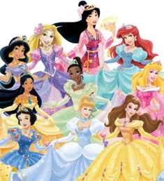 Fancy Ball Gown Disney Princesses