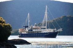 The Milford Wanderer, your home for the duration of your Discovery Cruise. More details here - http://www.discoverycruise.co.nz/