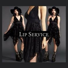 Velvet Burnout Chiffon Dress by #LipService now on sale! #blackvelvet #chiffon #littleblackdress