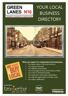 Directory of Green Lanes N16 Businesses