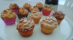 Saras madunivers: Fine små kransekagemuffins. HAPPY NEW YEAR 2015.