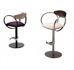 Clean Lines Meet Simple Forms These Eclipse Barstools Are Emphatically Modern In Design Contemporary