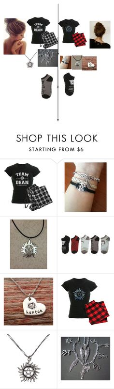 """""""A Supernatural Slumber Party"""" by whitewolf17 ❤ liked on Polyvore featuring slumberparty"""
