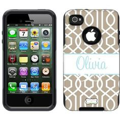Hmmm... I want this.... Maybe my other undestroyable otterbox will be destroyed so I can get a new one! :) trellis monogrammed otterbox.