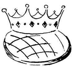 1000 images about epiphany coloring pages on pinterest three wise men coloring pages and - Dessins galette des rois ...