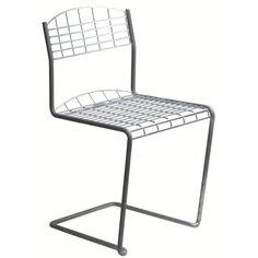 High Tech tuoli, lämpögalvanoitu Grythyttan Stålmöbler - Osta kalusteita verkossa osoitteessa ROOM2