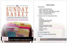 Organization Skills, Basket Organization, Paper Organization, Calendar Organization, Organisation Ideas, Household Organization, Paper Storage, Craft Storage, Home Management Binder