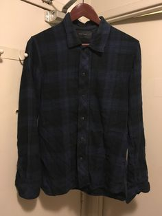 Wings + Horns Fw09 Overdyed Zip Flannel Size S $100 - Grailed