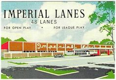 Post Card for Imperial Lanes on Summer Avenue Memphis Tennessee, Psychic Readings, My Town, Good Old, Back In The Day, Growing Up, Memories, Post Card, Bowling