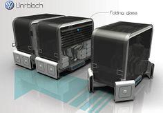 #Uniblock : le concept de véhicule #autonome et modulaire