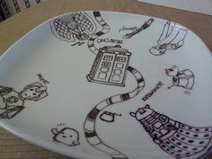 Sakacon: DIY Porcelain Dish Art
