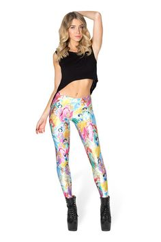 Disney Princess Leggings › Black Milk Clothing holy fuck yes @aimeebridger