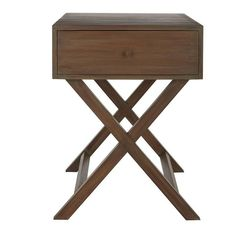 Hayden Single Drawer Mango Wood Accent Table | The Company Store