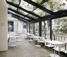 A Contemporary Renovation: The Peggy Guggenheim Café   Yatzer