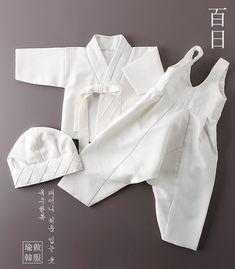 백일/돌사이즈 Korean Traditional, Traditional Dresses, Korean Outfits, Kids Outfits, Tandoori Masala, Korean Hanbok, Korean Babies, Latin Dance Dresses, Doll Dress Patterns