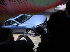 2016 Volvo is revealed during the 2016 North American International Auto Show held at Cobo Center in downtown Detroit on Monday, January Volvo S90, Detroit Auto Show, January 11, Cool Cars, In This Moment, American