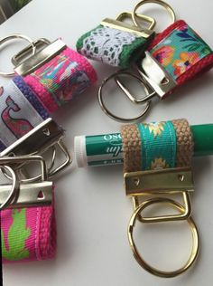 Excited to share this item from my shop: Chapstick KEYFOB Lip Balm Holder Keychain Burts Bees holder purse organizer party favor teenage gift shower favor teacher gift beach bum Creeper Minecraft, Embroidery Designs, Diy Leather Projects, Leather Crafts, Christmas Party Favors, Cute Keychain, Keychains, Chapstick Holder, Purse Organization
