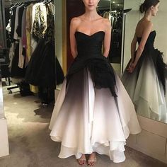 Beaded Prom Dress, Strapless Dress Formal, Event Dresses, Formal Dresses, Ombre Gown, Homecoming Dresses, Bridesmaid Dresses, Beautiful Dresses, Marie