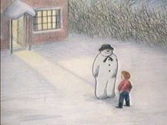 "The Snowman (Full 26 minute animation) introduced by David Bowie! ""The Snowman"" first aired on 24 December, 1982 A great British animated Cartoon/Film, based on the award winning children's novel ""The Snowman"" by Raymond Briggs School Holidays, Winter Holidays, Winter Christmas, Christmas Time, Xmas, Christmas Music, Christmas Movies, Christmas Videos, Christmas Scenes"
