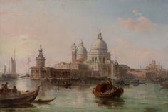 "Edward Pritchett - ""The Grand Canal, Venice"""