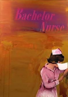Nurse painting by Richard Prince - Bachelor Nurse
