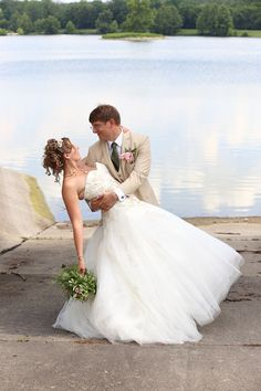 Congratulations to Sara and Jon! Our bride looked beautiful in her Enzoani wedding gown, Galela.