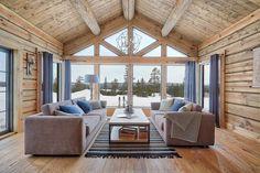 Trysil/ Trysilsetra - Nyoppført og eksklusiv tømmerhytte med høy standard på vakre Trysilsetra - Denne hytta må oppleves - 4 soverom - 2 bad - 2 stuer   FINN.no