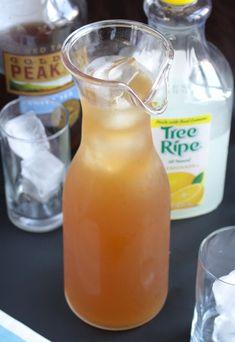 Sweet Tea Vodka Lemonade #vodkacocktails