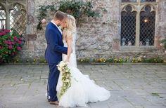 Lympne Castle Wedding, Fairytale wedding, draping bouquet, castle wedding, princess bride, kent wedding venues, best kent wedding venues, natural wedding photos, wedding photo ideas