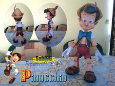 Sabi96 Papercraft Box: Pinocchio