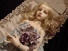 Art doll by Doll artist Mari Shimizu