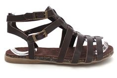 Auriel Leather Footbed Sandals £10
