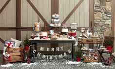 Rustic Woodland Holiday Styled Shoot - Pretty My Party