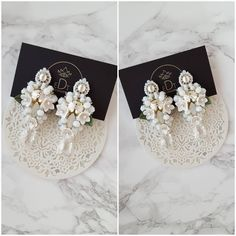 #earrings #earringsfashion #bride #wedding #handmade #handmadejewelry #jewelry #jewellery #jewelrydesigner #jewellerydesign #jewels #design #details #style #accessories #edtaccessories #flowers #fashion #fashionista #fashionblogger #elegant #stone #sweet #swaroski #swarovskicrystals #beads #white http://gelinshop.com/ipost/1517986323776342320/?code=BUQ-ITSlwkw