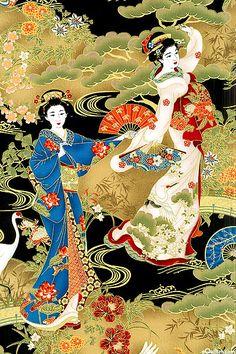 Kabuki - Geisha Dance - at eQuilter.com