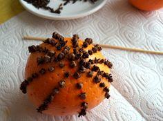 orangen zu weihnachten nelken knospen